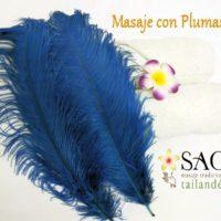 Masaje de plumas y cosquillas